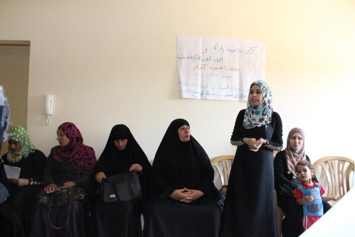 المؤسسات النسوية تسعى إلى تعزيز المشاركة السياسة لدى النساء