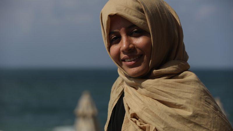 المشروع عزز وعيها السياسي حيفا البيومي .. النضال اليومي يكسب النساء القدرة على تغيير الواقع