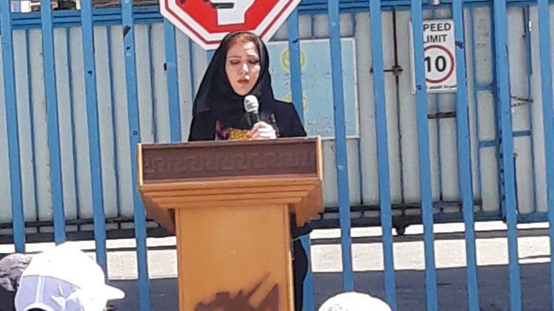 كلمة سهير خضر نائب رئيس الاتحاد في اعتصام موظفي عقود LDC في الأونروا