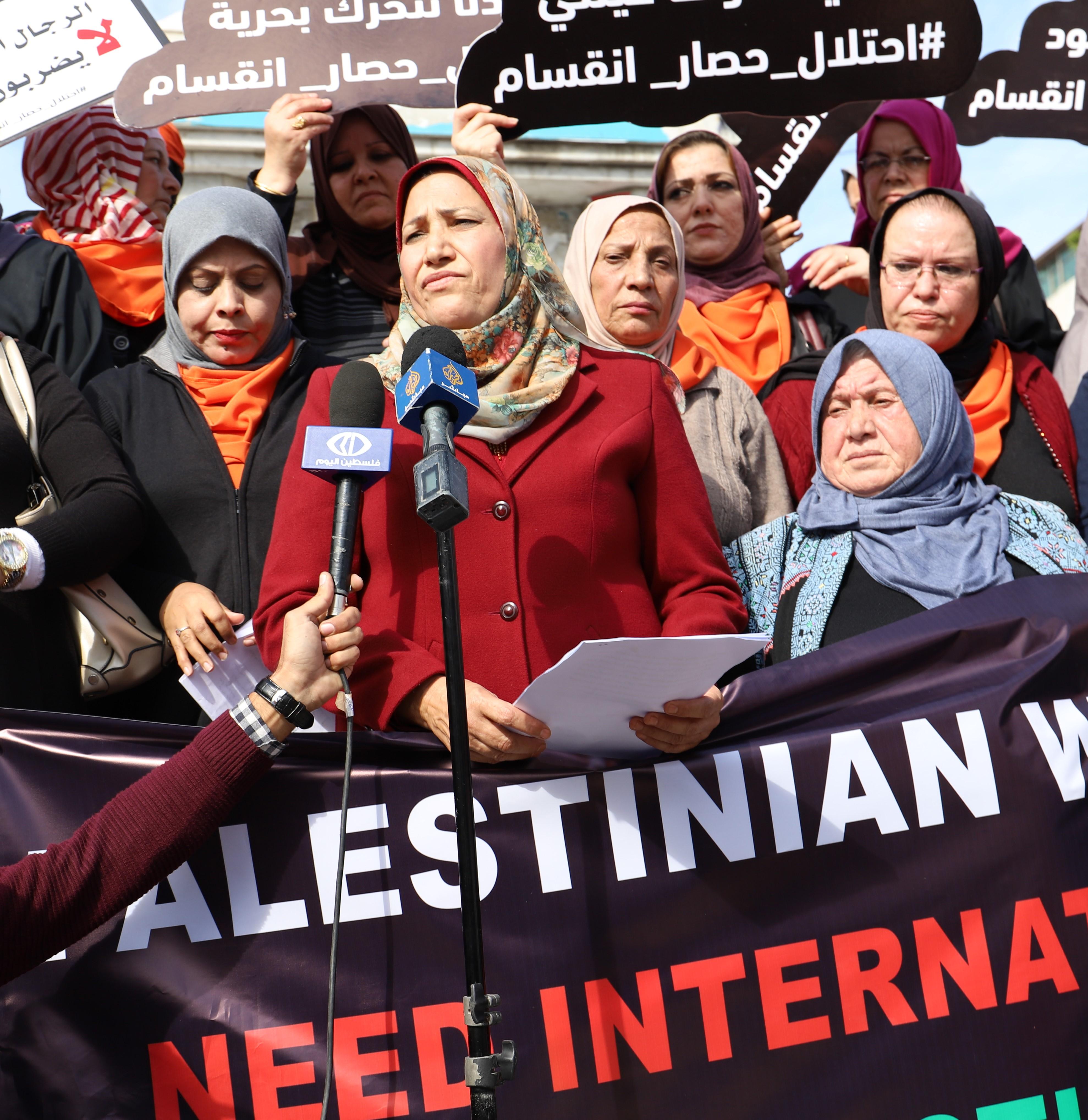كلمة الاتحاد العام للمرأة الفلسطينية بمناسبة حملة 16 يوم لمناهضة العنف