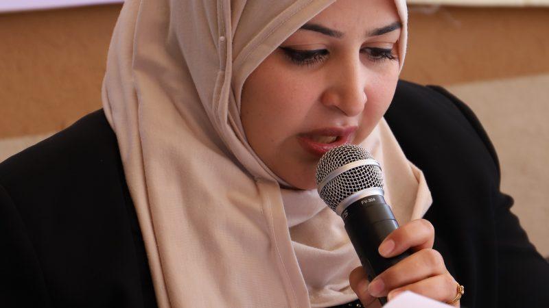 ورقة عمل حول التحديات والمشاركة السياسية للمرأة