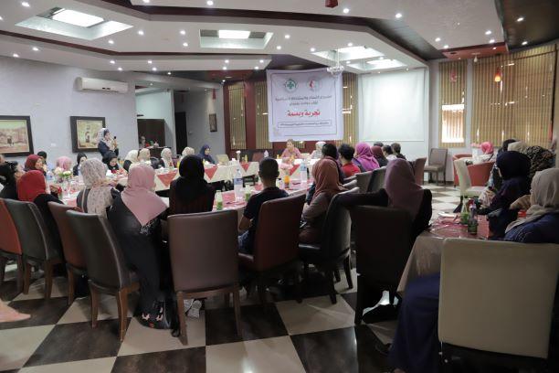 اتحاد لجان المرأة الفلسطينية ينفذ لقاءا حواريا مع الناشطة النسوية والسياسية خالدية أبو بكرة