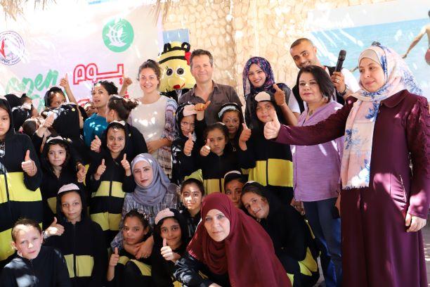 """مشروع نظم الدعم النفسي الاجتماعي للمرأة والطفل في قطاع غزة """"2019""""."""