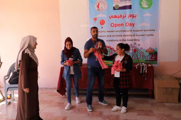اتحاد لجان المرأة ينفذ يوما ترفيهيا لأطفال مدينة بيت حانون