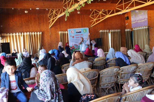 اتحاد لجان المرأة ينفذ يوما ترفيهيا لسيدات بيت حانون بعنوان #احنا_معك