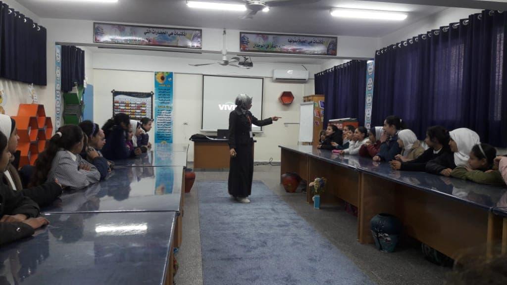 اتحاد لجان المرأة الفلسطينية ينفذ ورشات توعوية حول التنمر