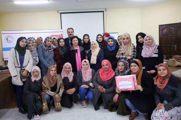 اتحاد لجان المرأة يختتم دورة تدريبية حول تمكين وتقوية المدافعات عن حقوق الانسان