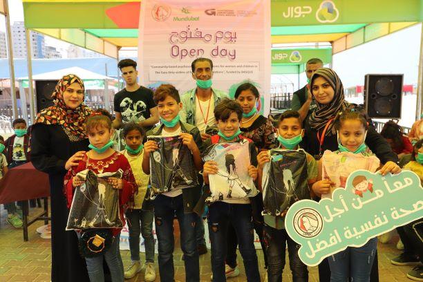 اتحاد لجان المرأة ينفذ يوما ترفيهيا لأطفال خانيونس