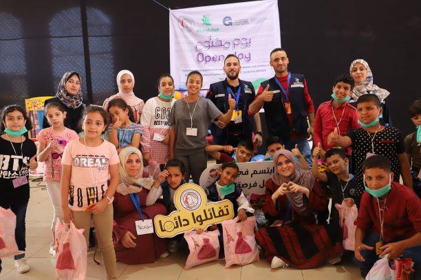 اتحاد لجان المرأة الفلسطينية ينفذ يوما ترفيهيا لأطفال غرب غزة.