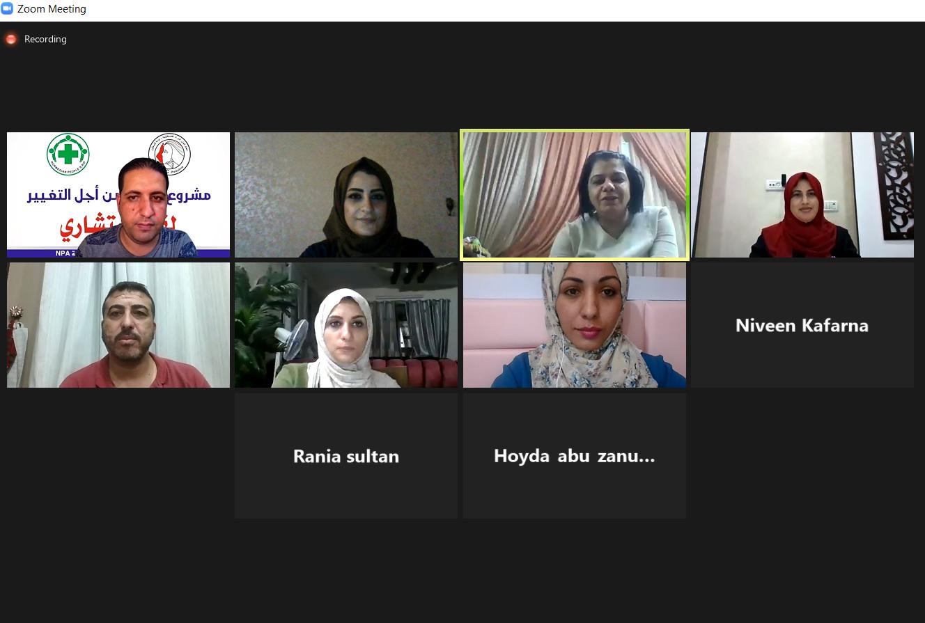 اتحاد لجان المرأة يعقد جلسة استشارية حول نظرية التغيير