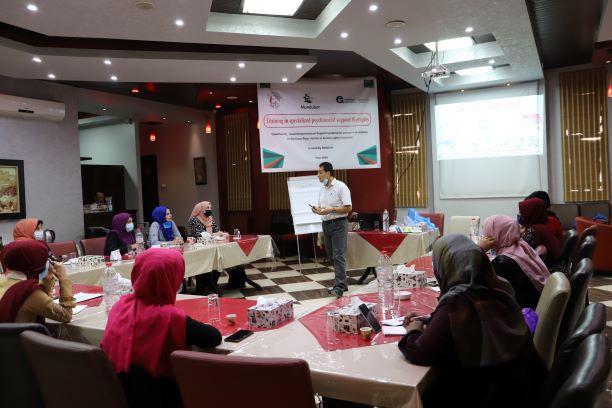 اتحاد لجان المرأة الفلسطينية ينفذ تدريبا حول الدعم النفسي المتخصص