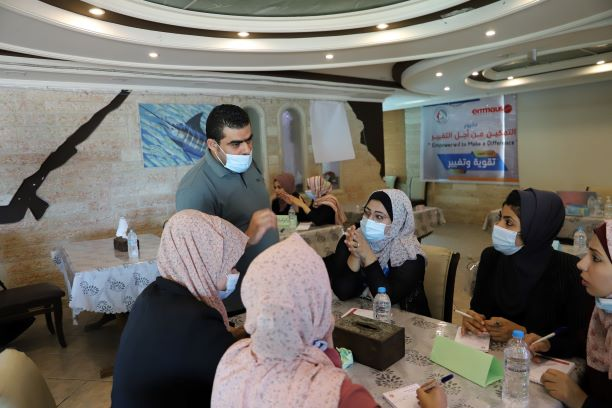 اتحاد لجان المرأة الفلسطينية ينفذ تدريب بعنوان تقوية وتغيير