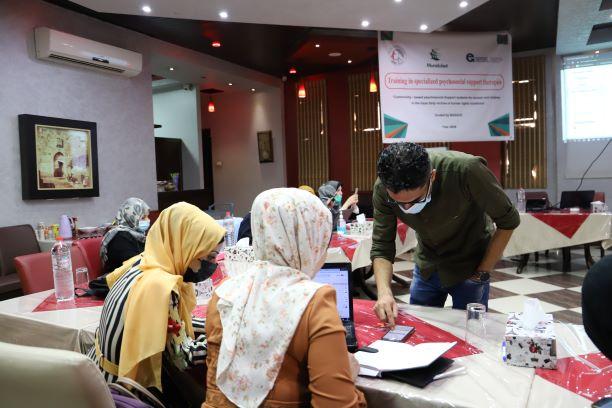اتحاد لجان المرأة يستكمل تدريب حول الدعم النفسي المتخصص