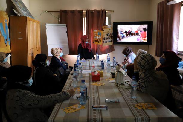 """اتحاد لجان المرأة الفلسطينية يعرض فيلم """" فرط رمان الذهب"""" ضمن مشروع يلا نشوف فيلم"""