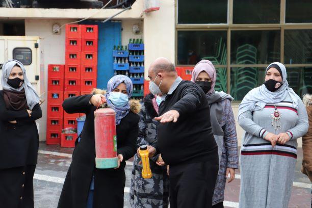 اتحاد لجان المرأة الفلسطينية يختتم تدريبا حول الأمن والحماية لمواجهة الأزمات والحوادث.