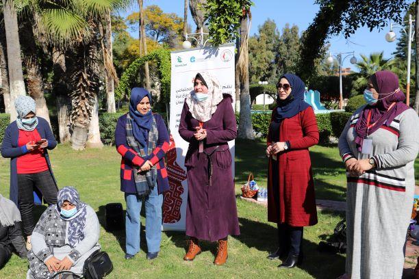 كلمة المنسقة الميدانية رانيا السلطان في الجلسة الاختتامية لمنطقة غرب غزة