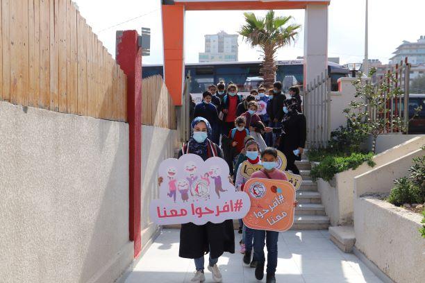 اتحاد لجان المرأة الفلسطينية ينفذ يوما ترفيهيا لأطفال مدينة بيت لاهيا