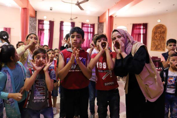 مبادرة ترفيهية لتخفيف الضغوط النفسية على الأطفال بعد العدوان الإسرائيلي