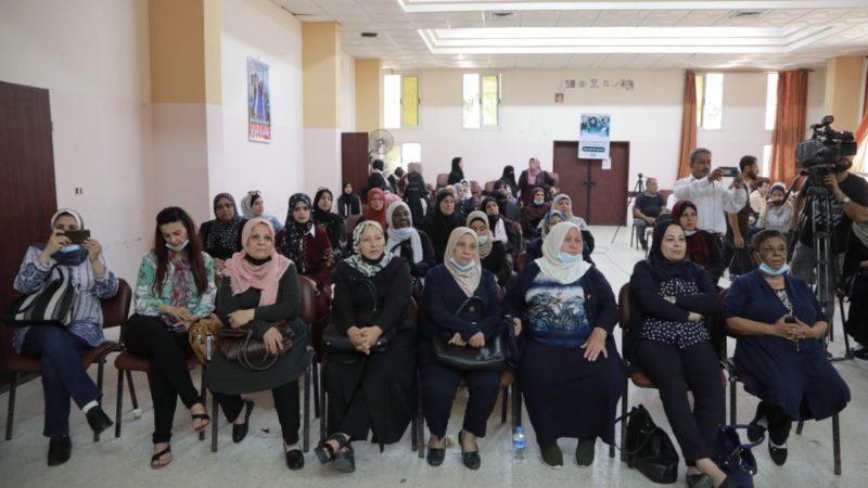 اتحاد لجان المرأة الفلسطينية يفتتح بيت عزاء لابنة المناضلة خالدة جرار