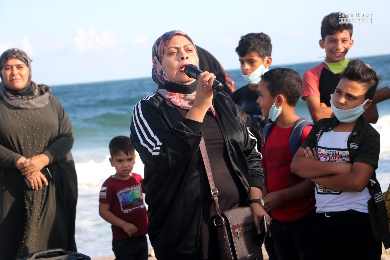 ماراثون للمشي..  اتحاد لجان الفلسطينية بالتزامن مع الضفة الغربية عدة دول متضامنة.