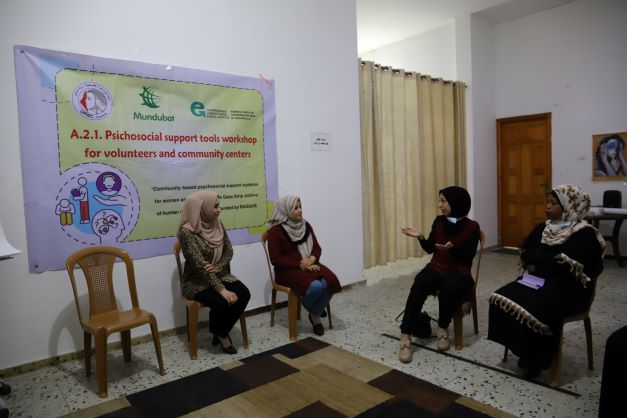 اتحاد لجان المرأة الفلسطينية ينفذ تدريبا حول آليات وتقنيات التنشيط